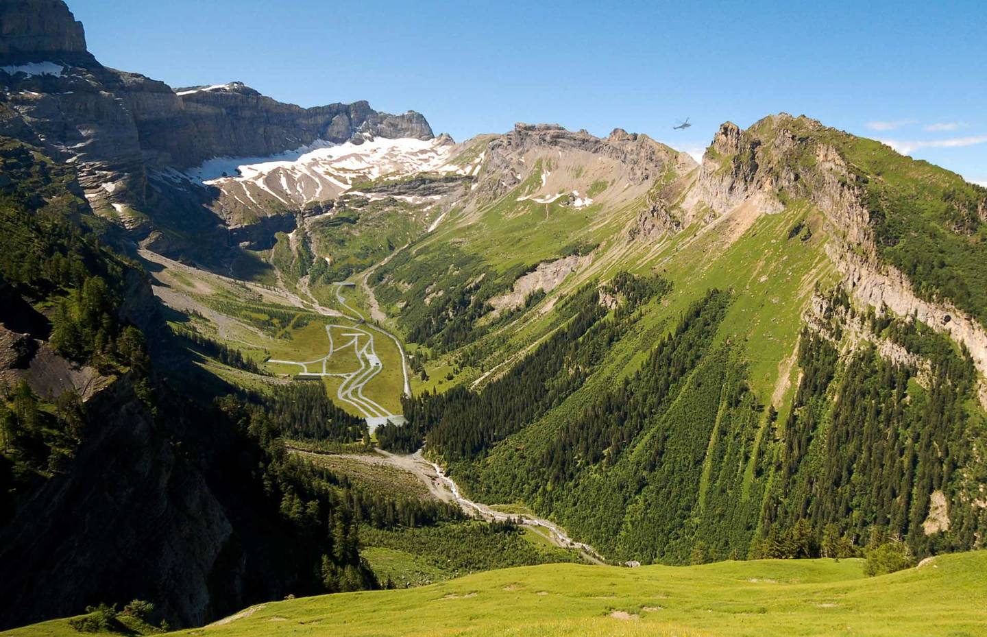 Visualisation Diablerets – Vallon de Nant – Derborence (partie ouest)